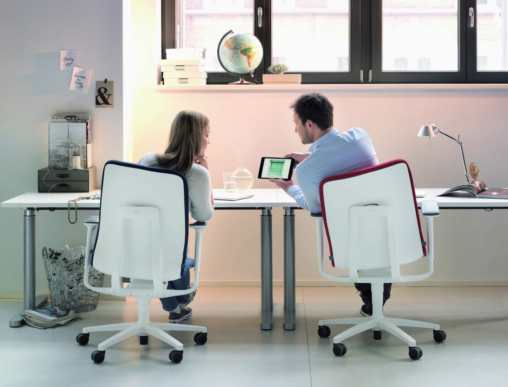 Drehstuhl, ergonomisch, sitzen, Design, einstellbar, Trimension, Wilkhahn