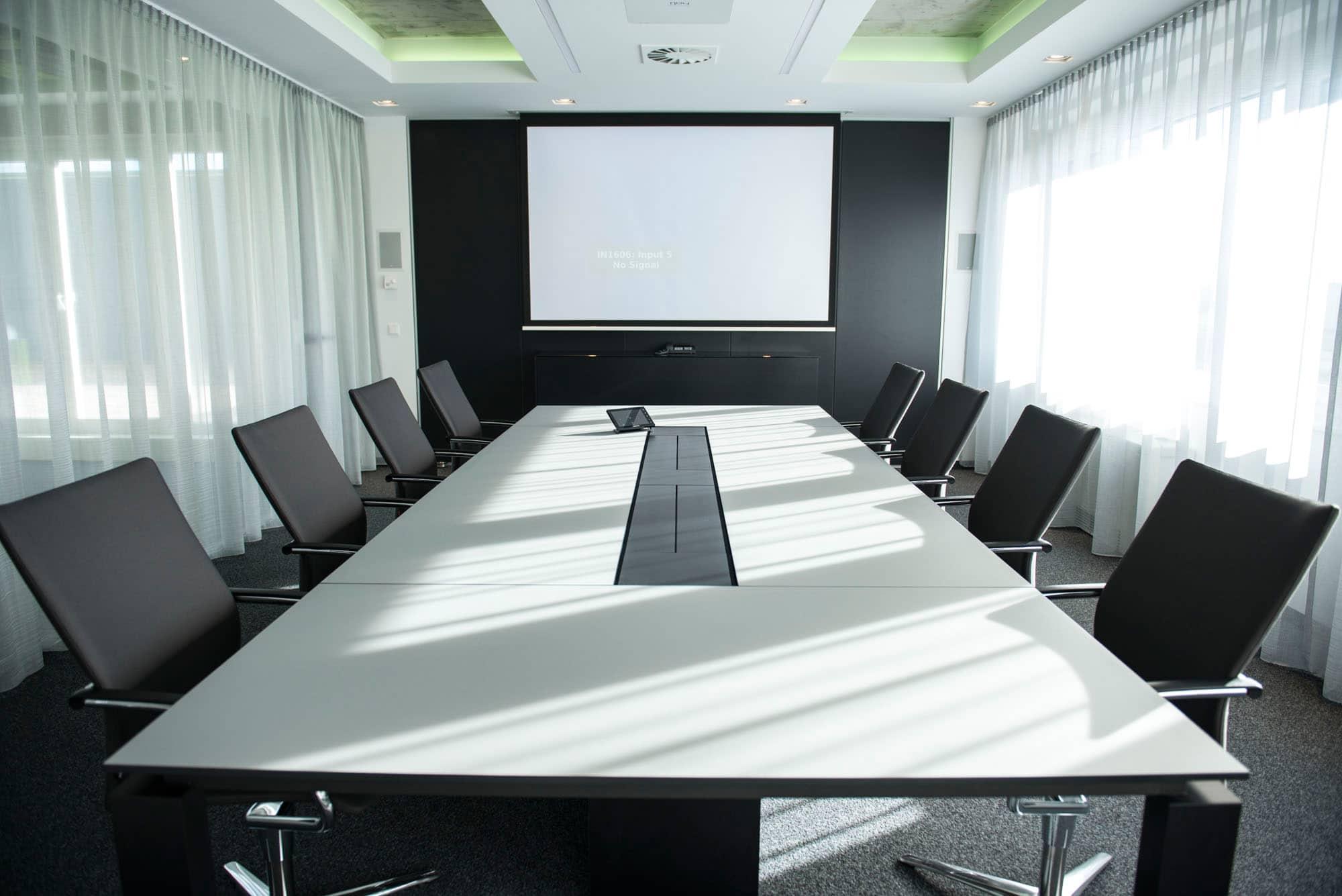 hali Büromöbel, s800, Konferenztisch, Meeting, Besprechung, Management, Chefmöbel