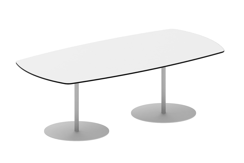 hali Büromöbel,Tonnenform, Besprechungstisch, Tisch, Säulen, Rundfuß, Meeting, Besprechung, Kundentermin,