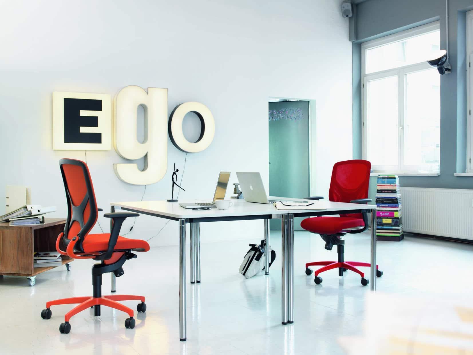 Drehstuhl, ergonomisch, sitzen, Design, einstellbar, Trimension, Wilkhahn, Netzrücken