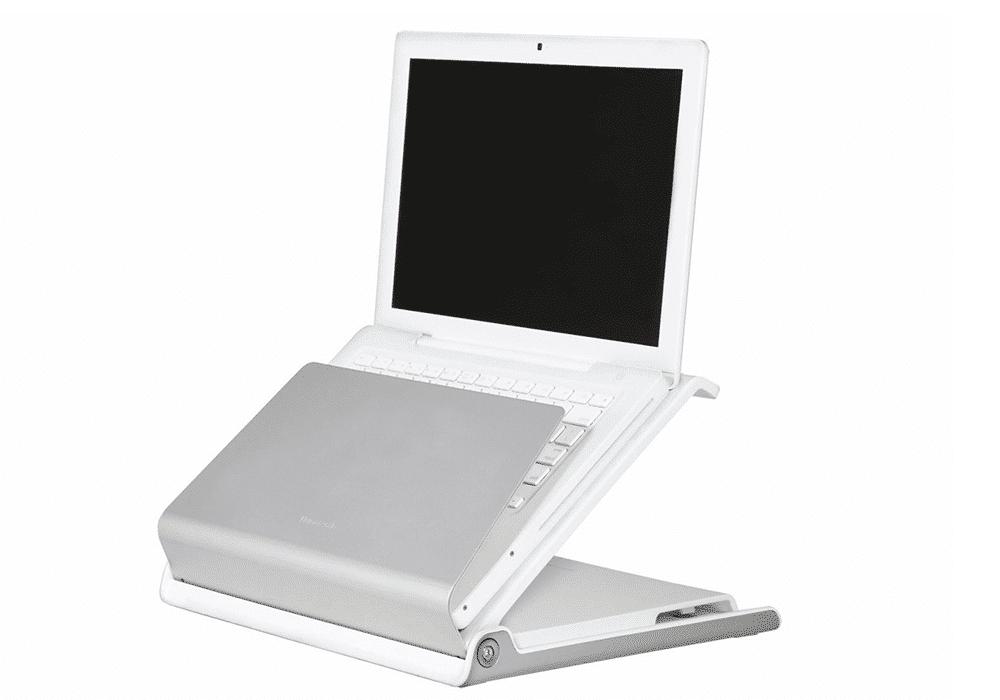 Humanscale, Laptophalter, ergonomisches Arbeiten, Laptop