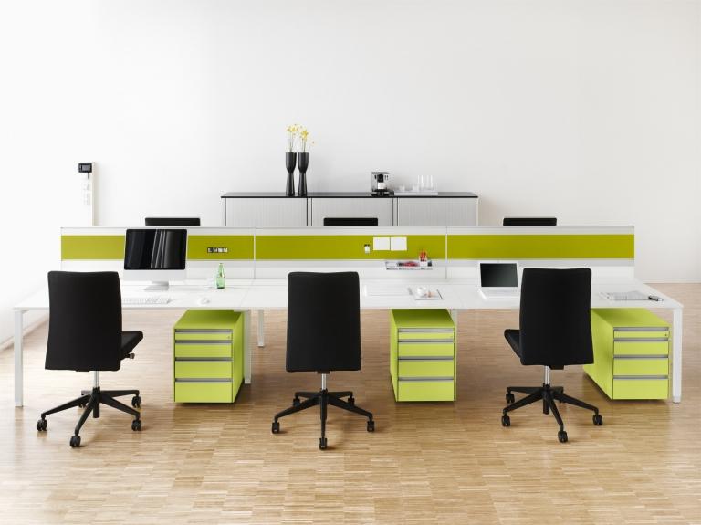 hali Büromöbel, Rollcontainer, Ladencontainer, Container, Büro, Büromöbel, Office, Stauraum, Griffleiste, workbench, box, Rolloschrank,