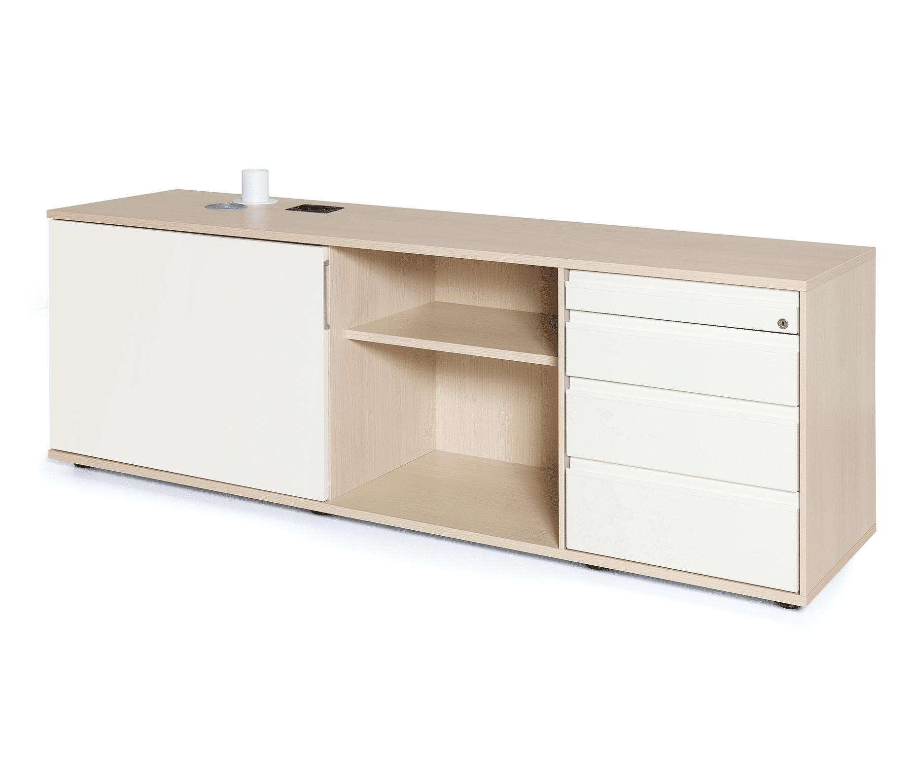 hali Büromöbel, Sideboard, SB03, Stauraum, Tisch, Kombination