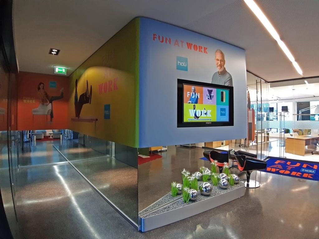 Foyer am hali Standort Lustenau