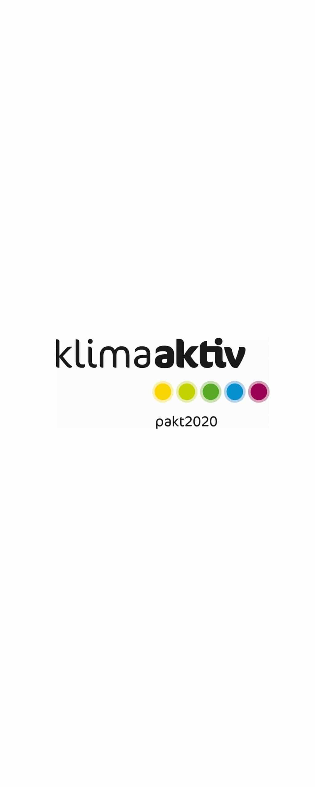 Logo klimaaktiv pakt2020