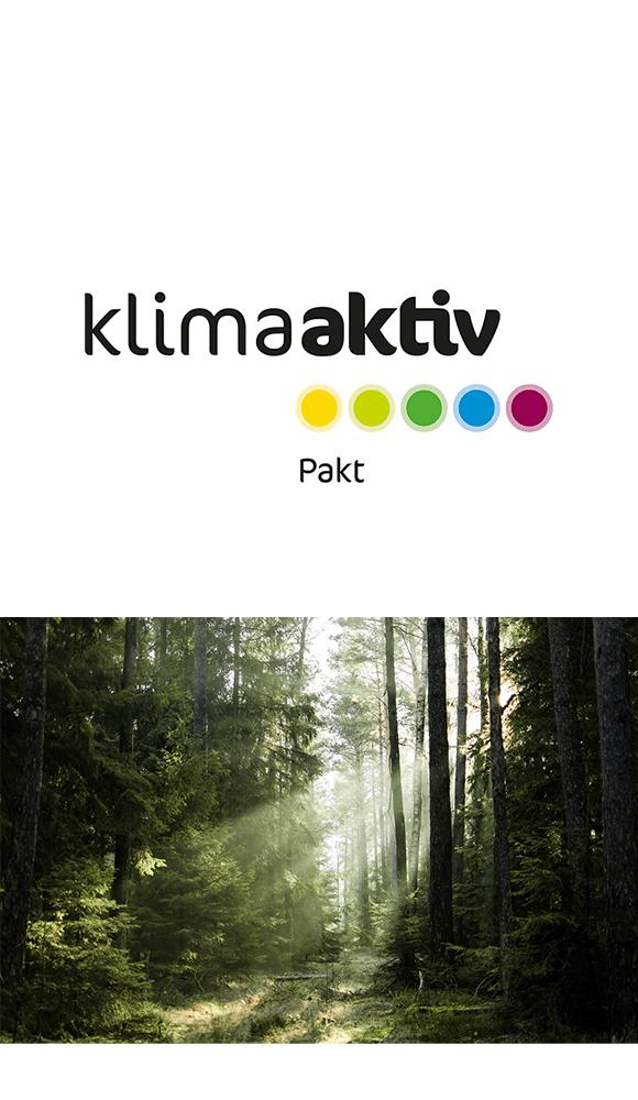 Logo klimaaktiv Pakt
