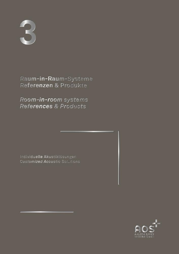 Titelblatt AOS Broschüre Raum in Raum