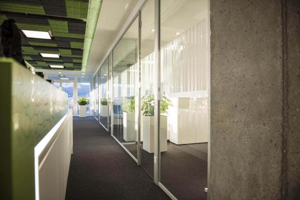 hali Büromöbel, Referenz, Referenzen, RS11, Trennwand, Trennwandsystem, Raumsystem,