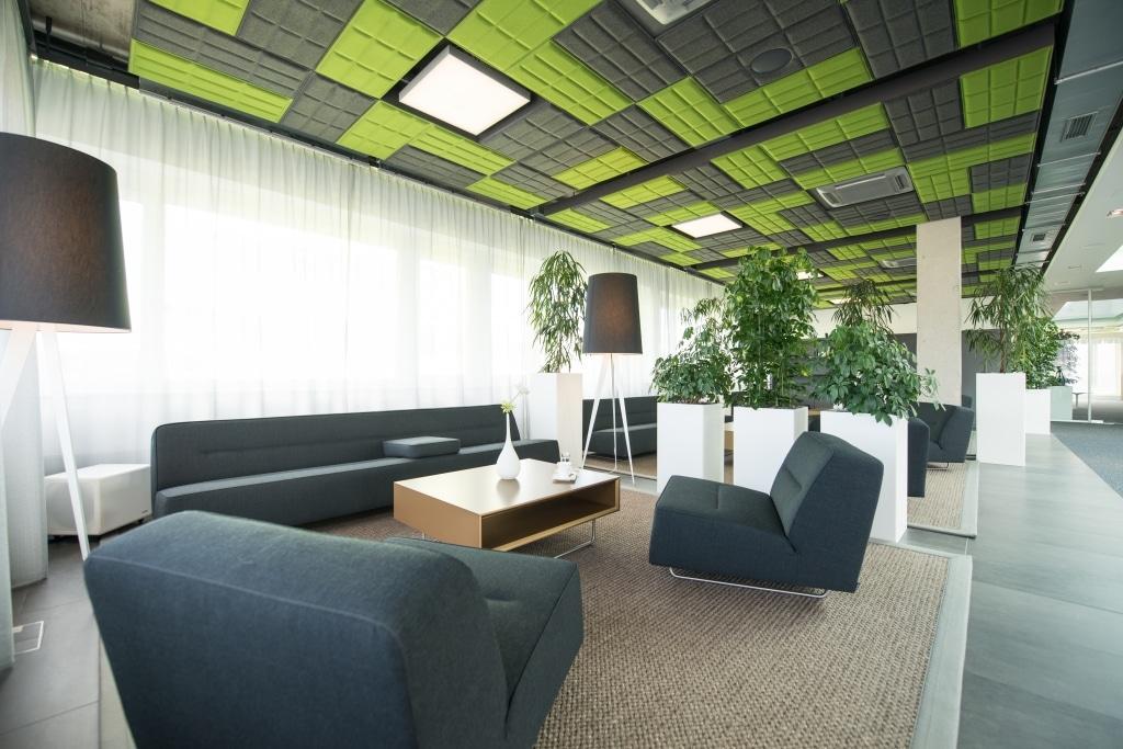 hali Büromöbel, Referenz, Referenzen, Palau, Loungemöbel, Loungebereich, Beleuchtung, Begrünung, Raumklima, Besprechung, Loungemöbel, Warten, Akustik,Deckenpaneel, Stimmung, Wohlfühlen